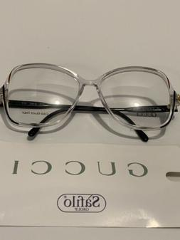 NICE Vintage Authentic Gucci Rx Eyeglasses FRAMES  Clear Ita