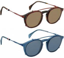 Tommy Hilfiger Optical Men's Pilot Eyeglass Frames w/ Clip-O