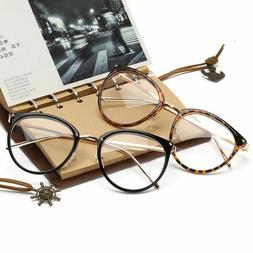 Oversized Eyeglasses Clear Lens Eyeglass Women Glasses Cat E