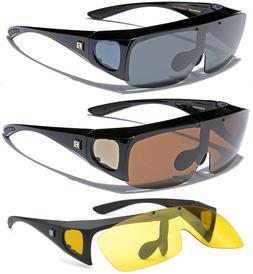 Polarized Men Women Flip Up Sunglasses Fit Over Prescription