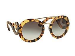 Prada PR 13SS  Womens Round Sunglasses