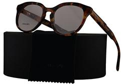 Prada PR13SV Journal Eyeglasses 50-18-140 Brown Orange Havan