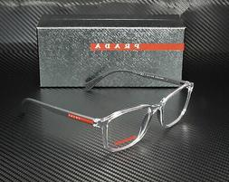 Prada Linea Rossa PS 04IV 2AZ1O1 TRANSPARENT DEMO LENS Men's