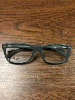 Ray Ban RB5228 5582 Gray Eyeglasses New Authentic 53 17 140