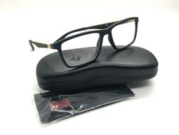 Ray Ban RB7056  Matte Black & Gold 5517 145 Eyeglasses Frame
