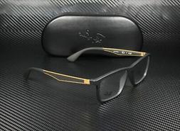 RAY BAN RX7056 5644 Matte Black Demo Lens 53 mm Men's Eyegla