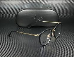 RAY BAN RX7140 2000 Shiny Black Demo Lens 51 mm Unisex Eyegl