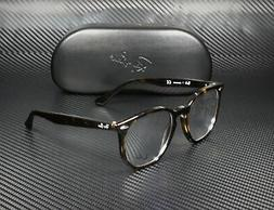 RAY BAN RX7151 2012 Havana Demo Lens 52 mm Unisex Eyeglasses