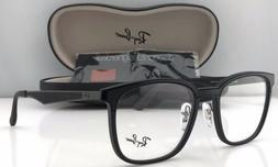 Rayban Square Two Tone Eyeglasses RB7117 Black Matte Black 5