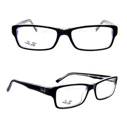 Ray Ban RB 5169 2034 Black on Clear 54/16/140 Eyeglasses Rx