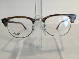 "RayBan RB5154 ""Clubmaster"" Eyeglass Frame - 5749 Brown - NEW"