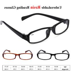 Readers Eyeglasses Presbyopic Unbreakable Full Frame  Readin