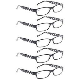 Reading Glasses 5 Pack Great Value Ladies Readers Quality Fa