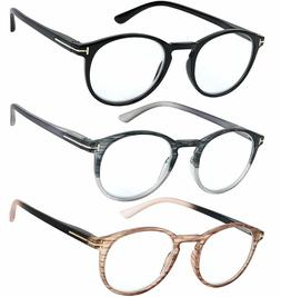 Reading Glasses Set of 3 Great Value Quality Fashion Readers