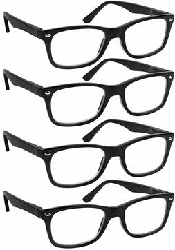 reading glasses set of 4 black quality
