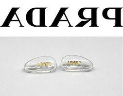 Replacement Screw-in Nose Pads for PRADA Eyeglasses Sunglass