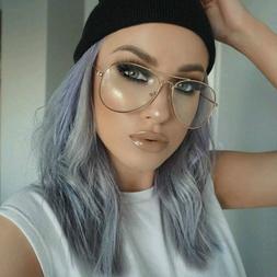 Retro Glasses Frame Women <font><b>Aviation</b></font> <font