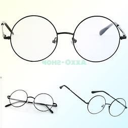 Agstum Retro Round Prescription ready Metal Eyeglass Frame