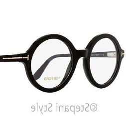 Tom Ford Round Eyeglasses TF5461 001 Black/Gold 52mm FT5461