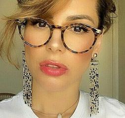ROUND Eyeglasses Vintage Retro 70's MARILYN Women Punk Up Ro