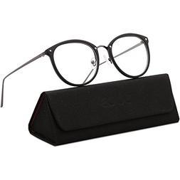 SojoS Round Women Eyeglasses Fashion Eyewear Optical Frame C