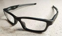 Oakley RX Eyeglasses Crosslink Satin Black / Grey arms O Mat