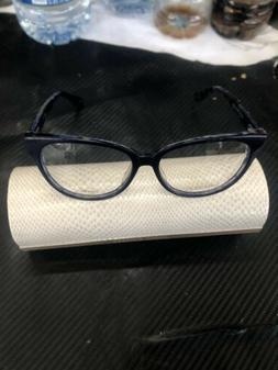 Jimmy Choo Rx Eyeglasses Frames JC 145/F J55 52-15-140 Blue