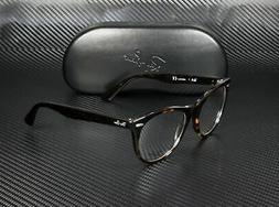 RayBan RX2185V 2012 HAVANA DEMO LENS 52 mm Unisex Eyeglasses