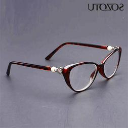 SOZOTU Cat Eye <font><b>Reading</b></font> <font><b>Glasses<
