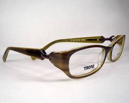 Mandalay Sport  004 C1 Green Women Eyeglasses Eyewear Frames