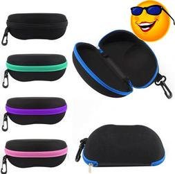 Eyewear Accessories Protable Rectangle Zipper Sunglasses Hard Eye Glasses Case Protector Box Zipper Sunglasses Hard Eyewear Accessories Men's Glasses
