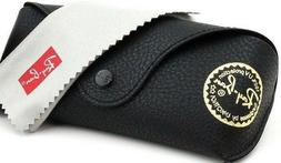 Ray Ban Sunglasses Eye glasses case Black leather with clean