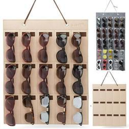 Sunglasses Organizer Storage Holder Container Eyeglasses Cas