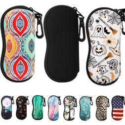MoKo Sunglasses Soft Bag Eyeglass Case Ultra Light Neoprene