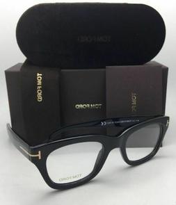 Tom Ford TF 5178 001 Eyeglasses Frame FT 5178 Shiny Black Au