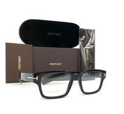 Tom Ford TF5527 001 Shiny Black 50mm Eyeglasses FT5527