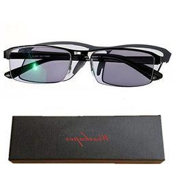 WEARKAPER Transition Sunglasses Photochromic Myopia Eyeglass