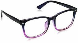 TIJN Unisex Stylish Square Non-prescription Eyeglasses Glass
