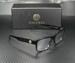 VERSACE VE3266 GB1 Black Demo Lens 55 mm Men's Eyeglasses