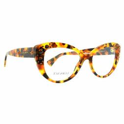Versace VER 3221B 5119 Havana Cat Eye Optical Frames Eyeglas