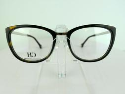 Carolina Herrera VHE 092K  Tortoise  52 x 18 135 Eyeglass Fr