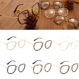 Vintage <font><b>Clear</b></font> Lens <font><b>Eyeglasses</