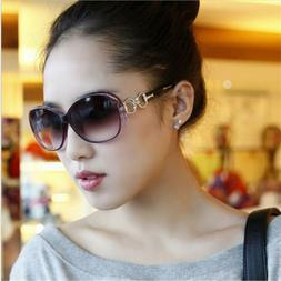 Vintage Oversized Mirror Sunglasses Women Fashion Designer C