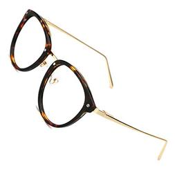 fd5b4daefba TIJN Vintage Round Metal Optical Eyewear Non-prescription Ey