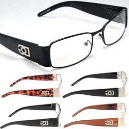 Men Women Clear Lens Rectangular Eye Glasses Nerd Retro Fash