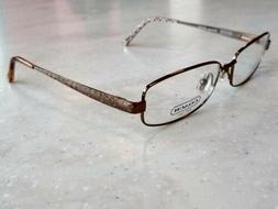 Coach Wendy 129 Eyeglass Frames Shiny Sand New Women