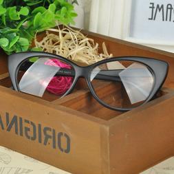 Women Cat Eyes  Glasses Frame Ful Rim Sexi Eyewear Fashion E