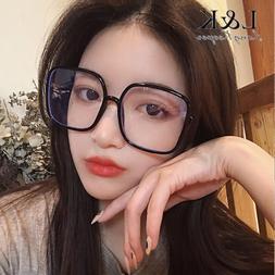 Women Glasses Frame Oversized <font><b>Square</b></font> PC