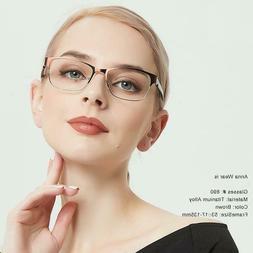 Women Glasses Titanium Alloy Optical Frame Prescription Eyeg