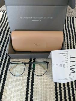 TIJN Women's Eyeglasses Glasses Frames Black Esther R -2.5 L